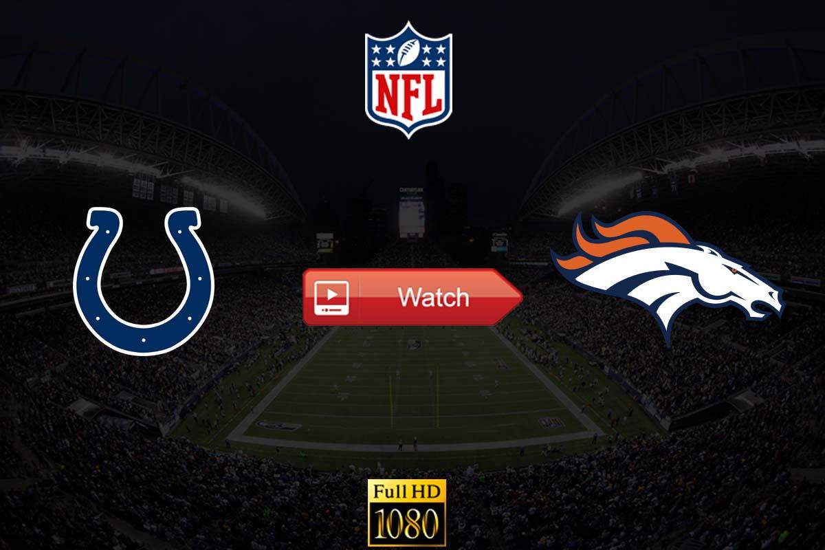 Colts vs Broncos live stream reddit