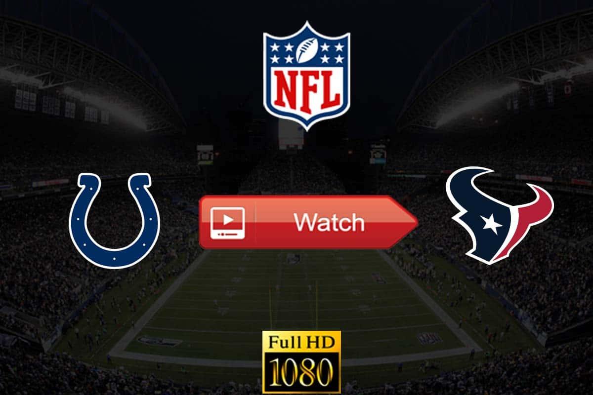 Colts vs Texans live stream reddit