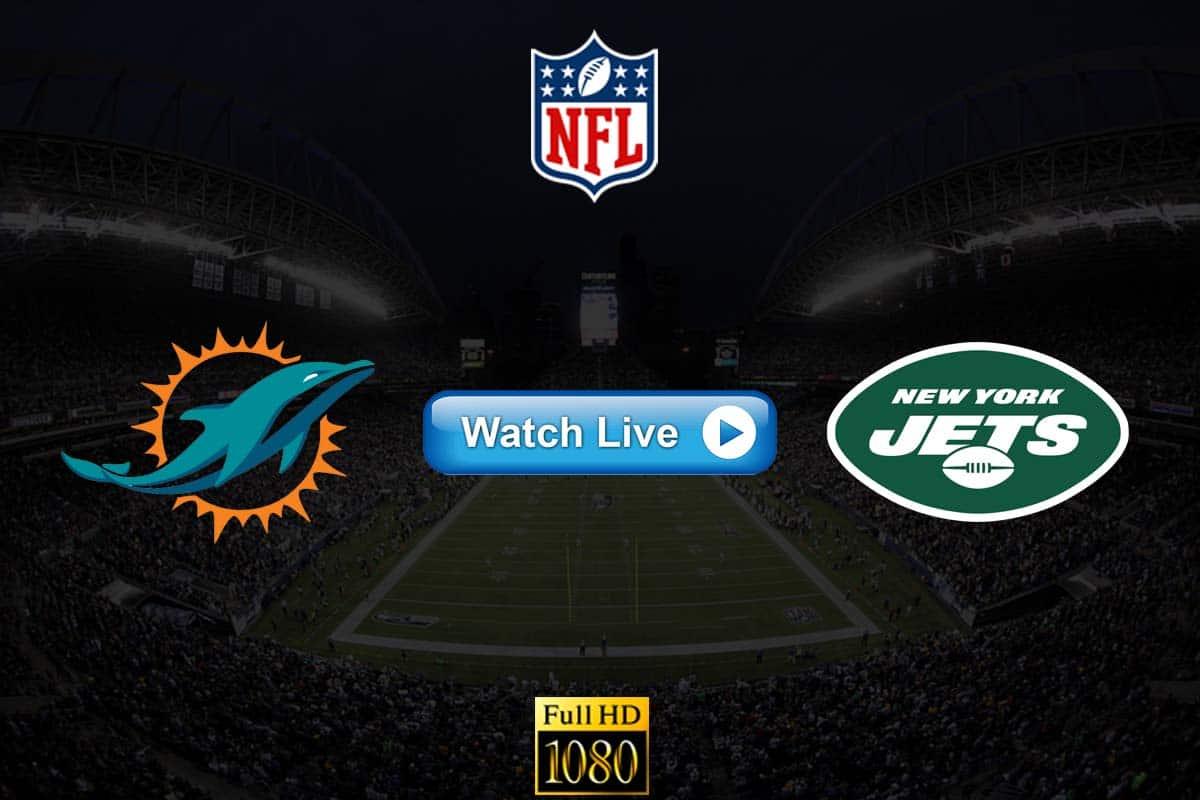 Dolphins vs Jets live streaming reddit