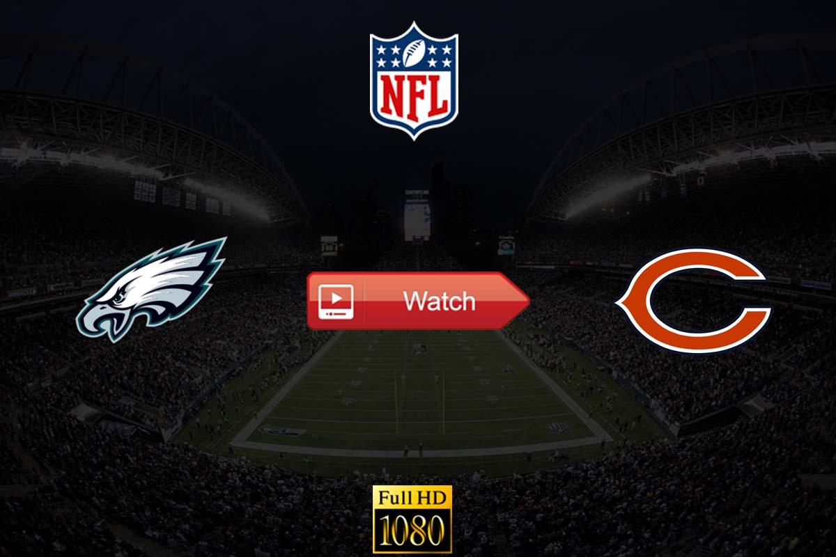 Eagles vs Bears live stream reddit