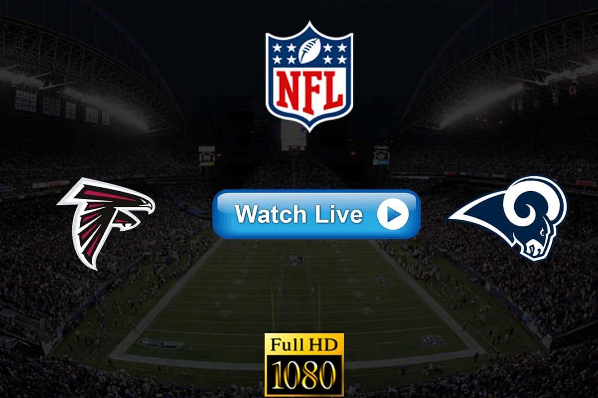 Falcons vs Rams live streaming reddit