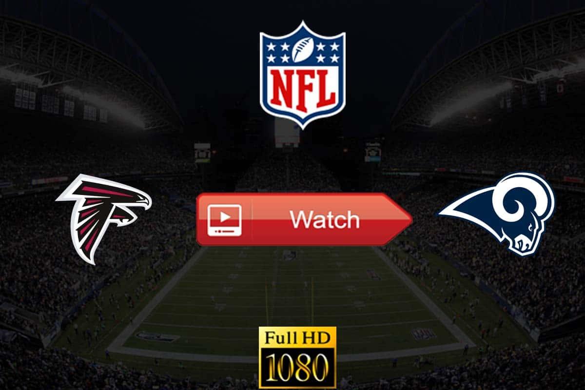 Falcons vs Rams live stream reddit