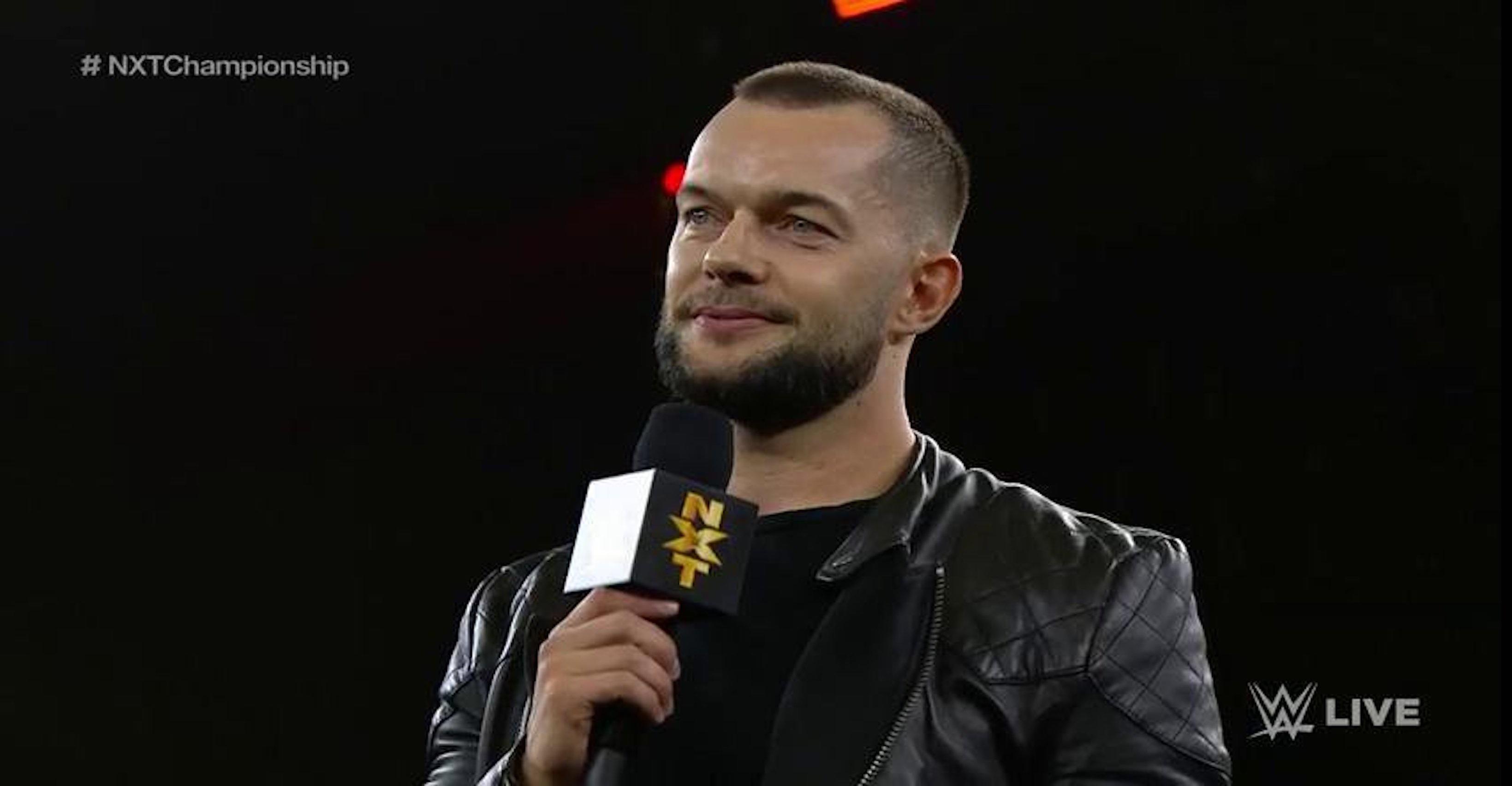 Finn Bálor Confronts Adam Cole, Announces NXT Return