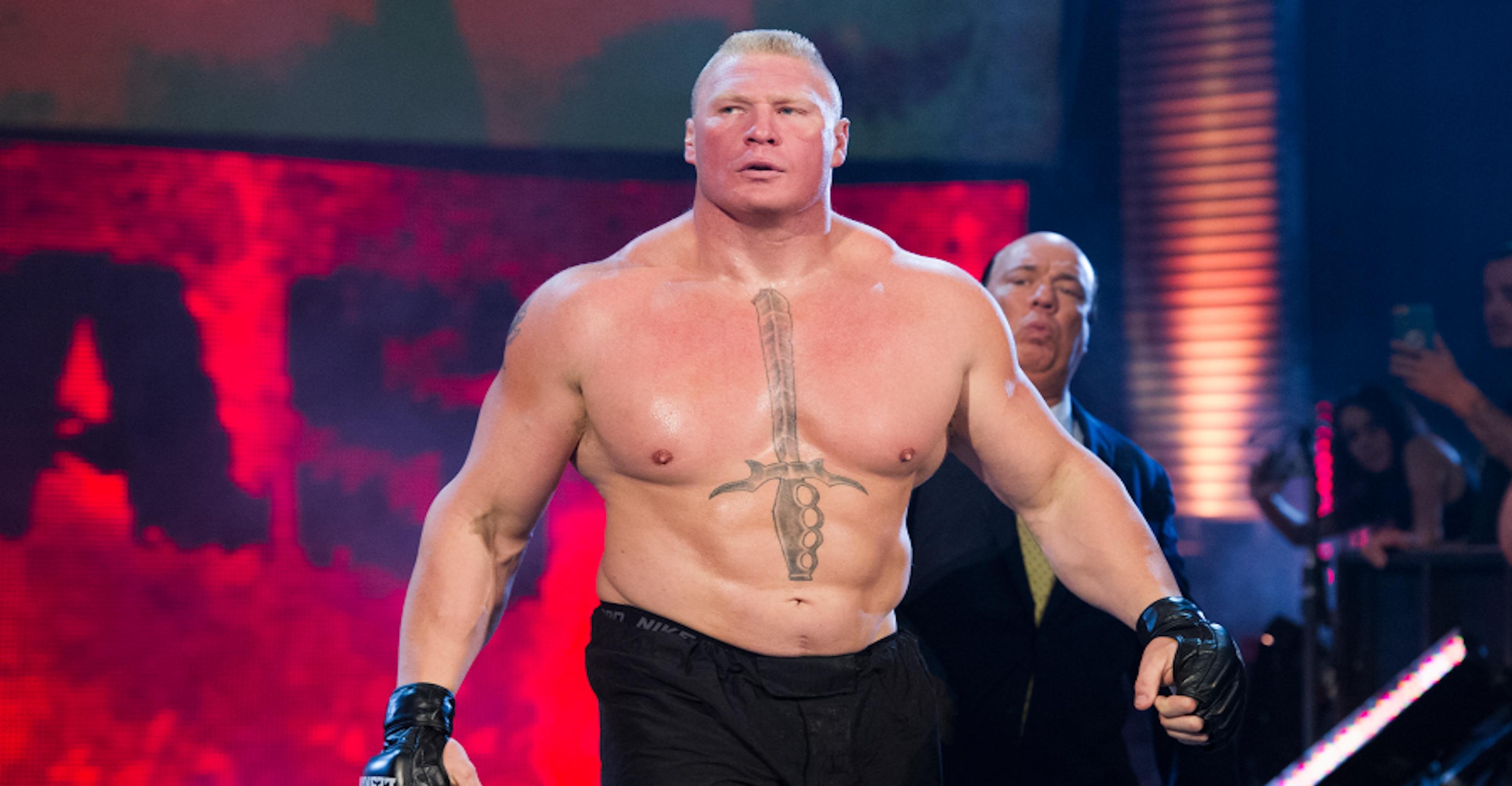 Brock Lesnar Wreaks Havoc Against Rey Mysterio's Family On 'Friday Night SmackDown'
