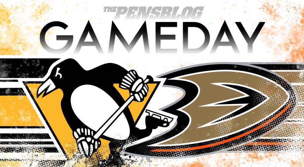 Gameday 4: Pens vs. Ducks