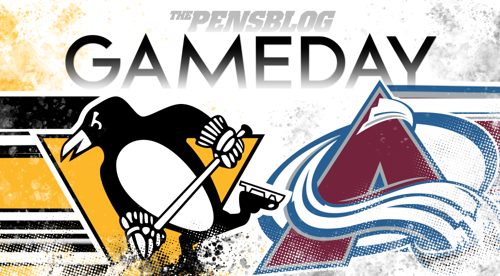 Gameday 7: Penguins vs. Avalanche