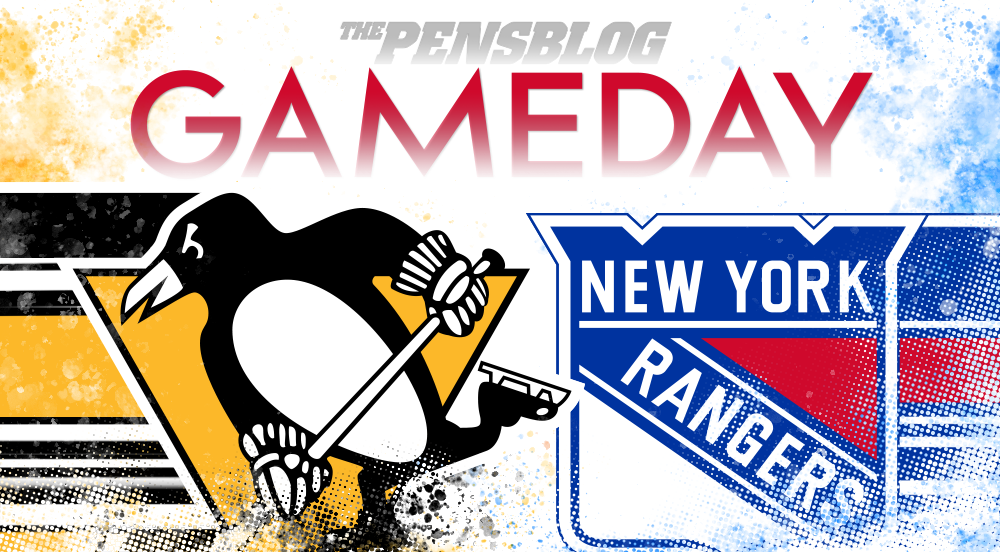 Gameday 18: Penguins @ Rangers