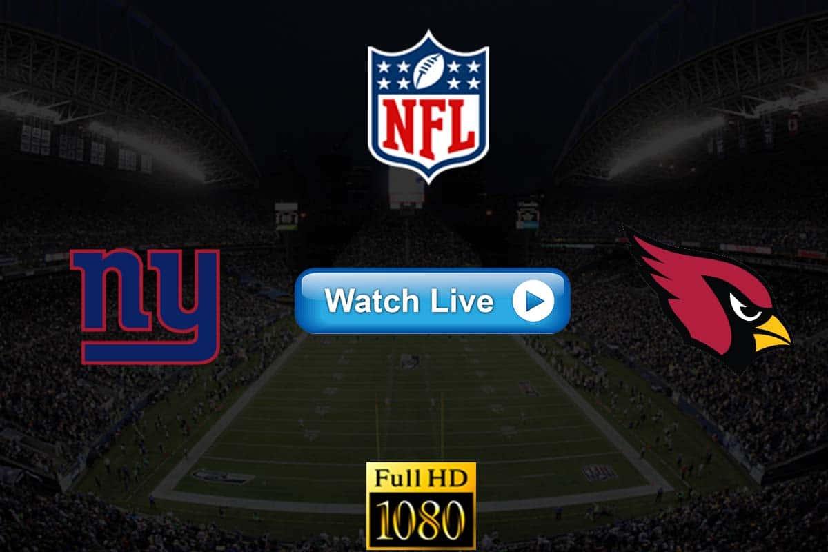 Giants vs Cardinals live streaming reddit
