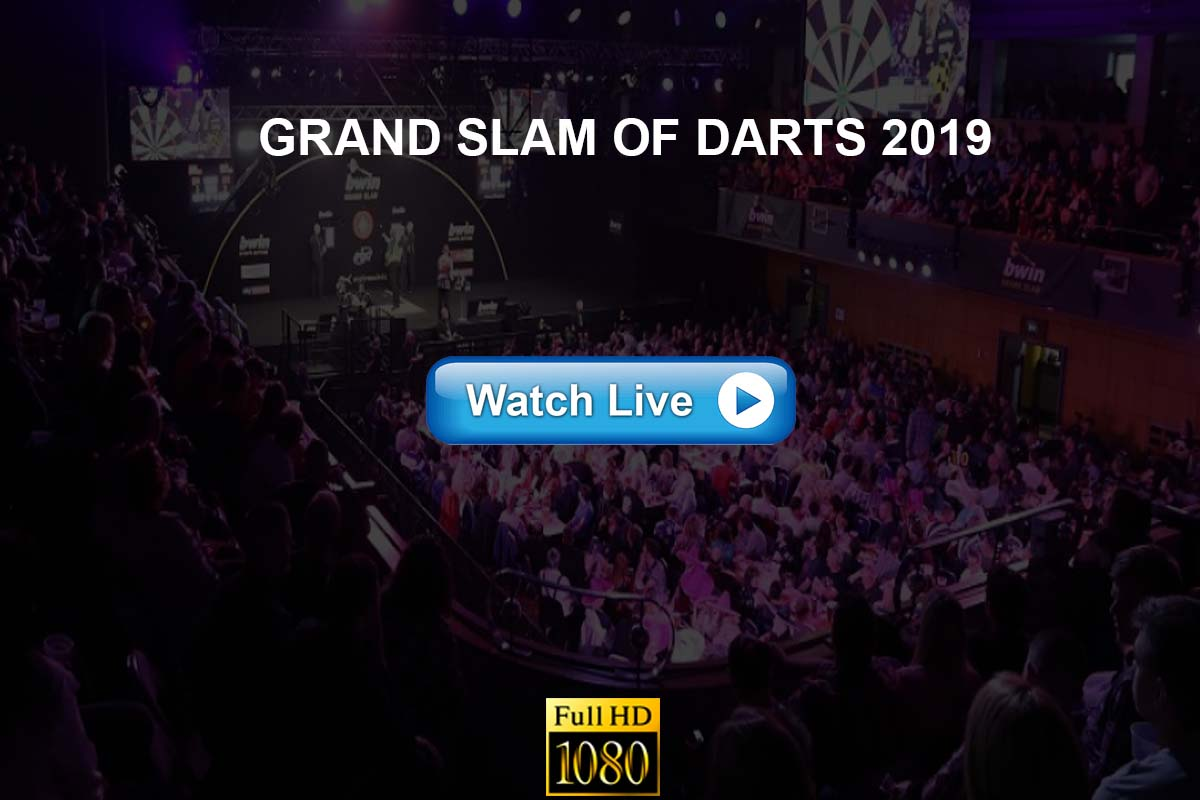Grand Slam of Darts live streaming reddit