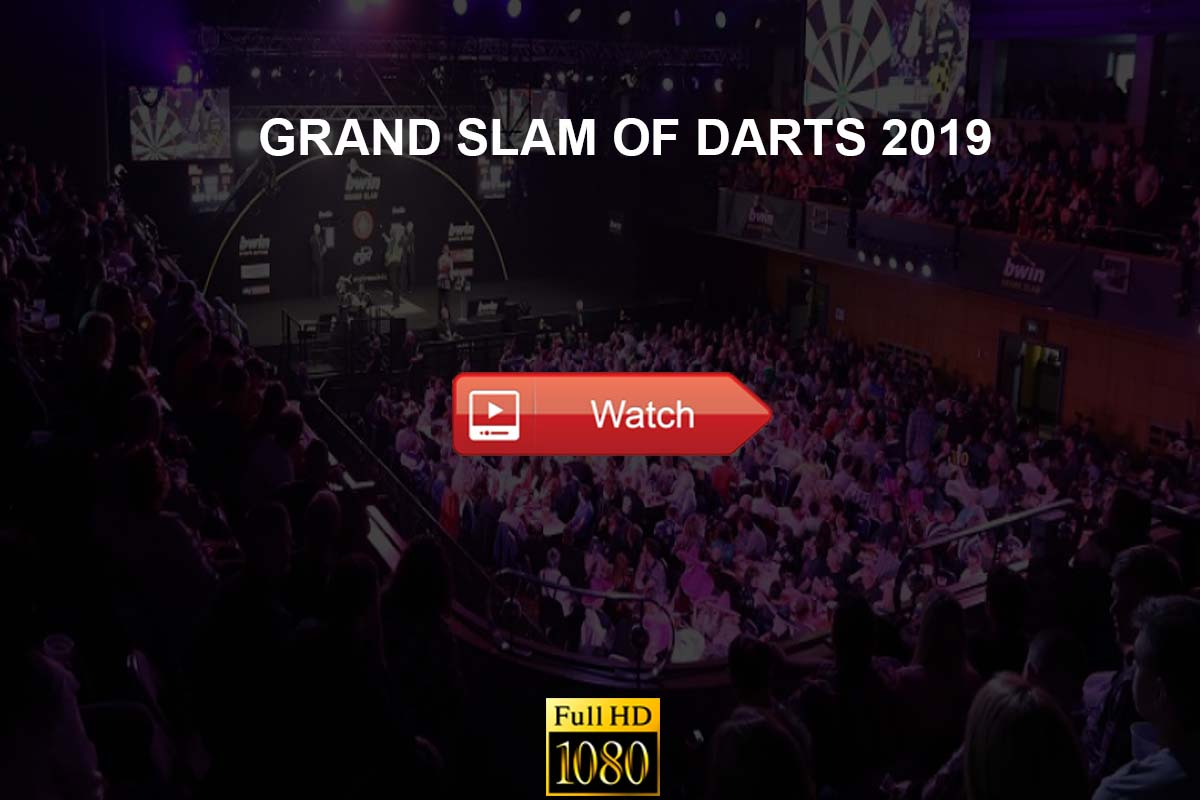 Grand Slam of Darts live stream reddit