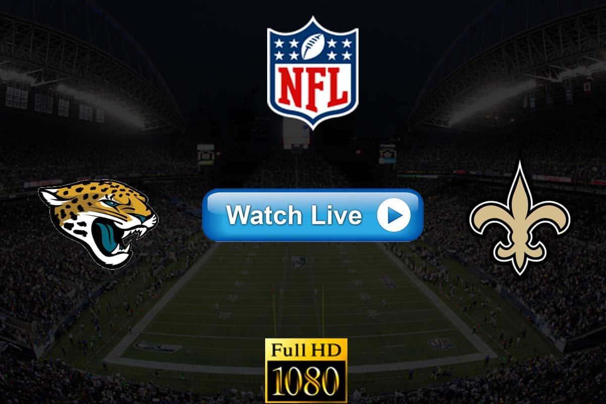 Jaguars vs Saints live streaming reddit