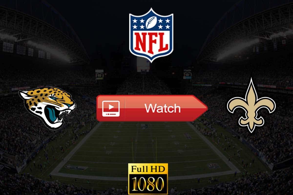 Jaguars vs Saints live stream reddit