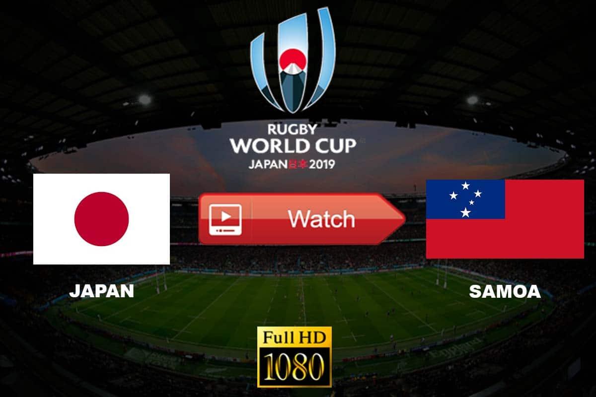 Japan vs Samoa live stream reddit