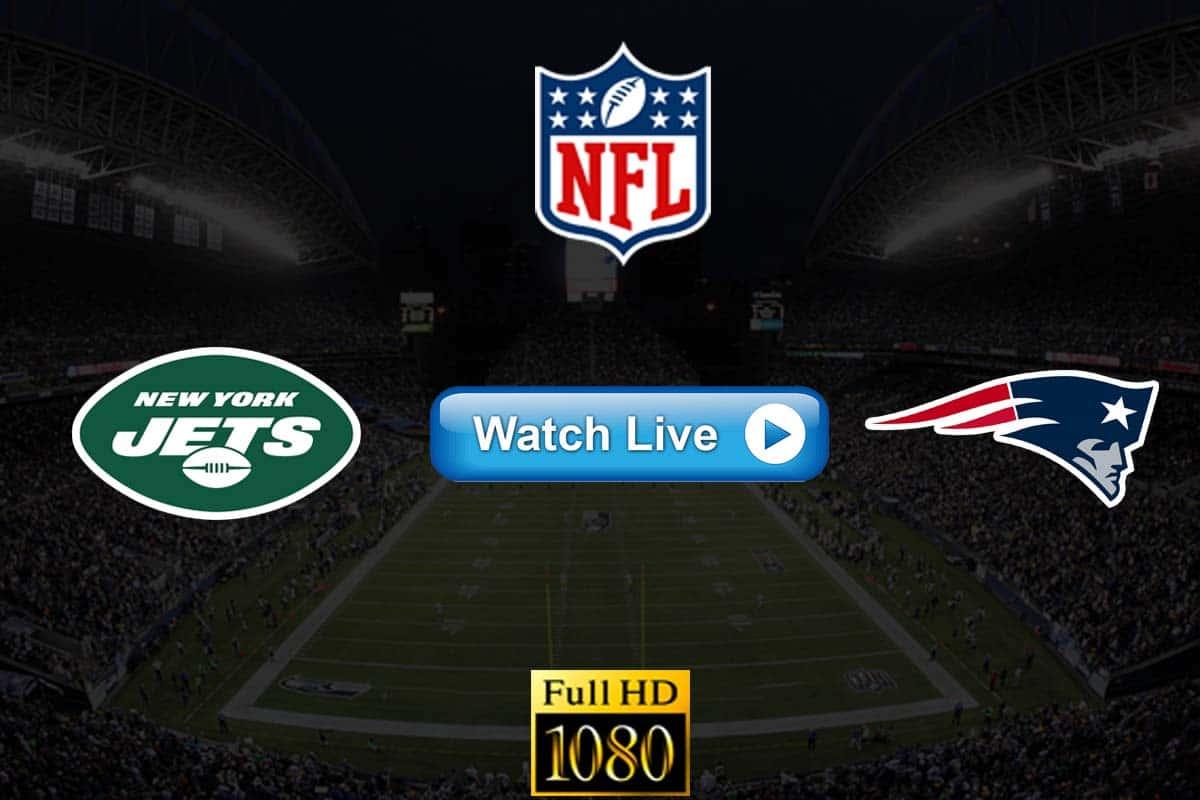 Jets vs Patriots live streaming reddit