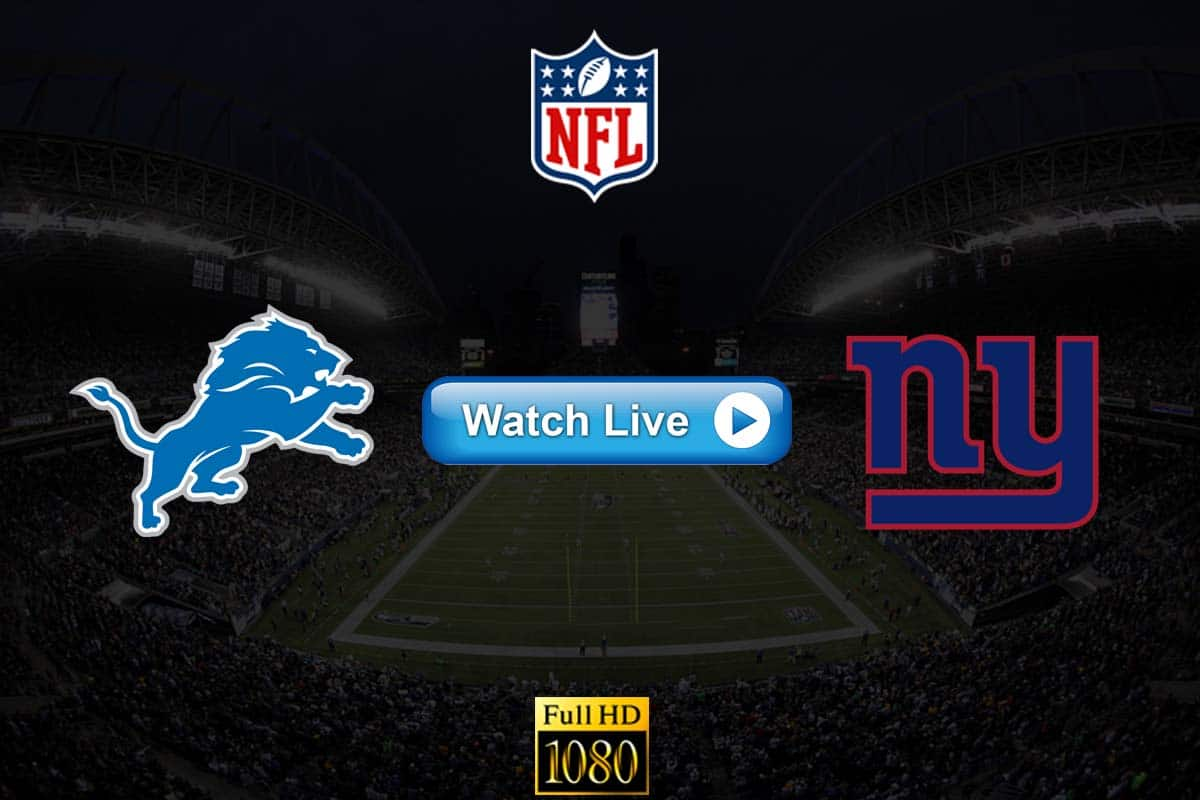 Lions vs Giants live streaming reddit
