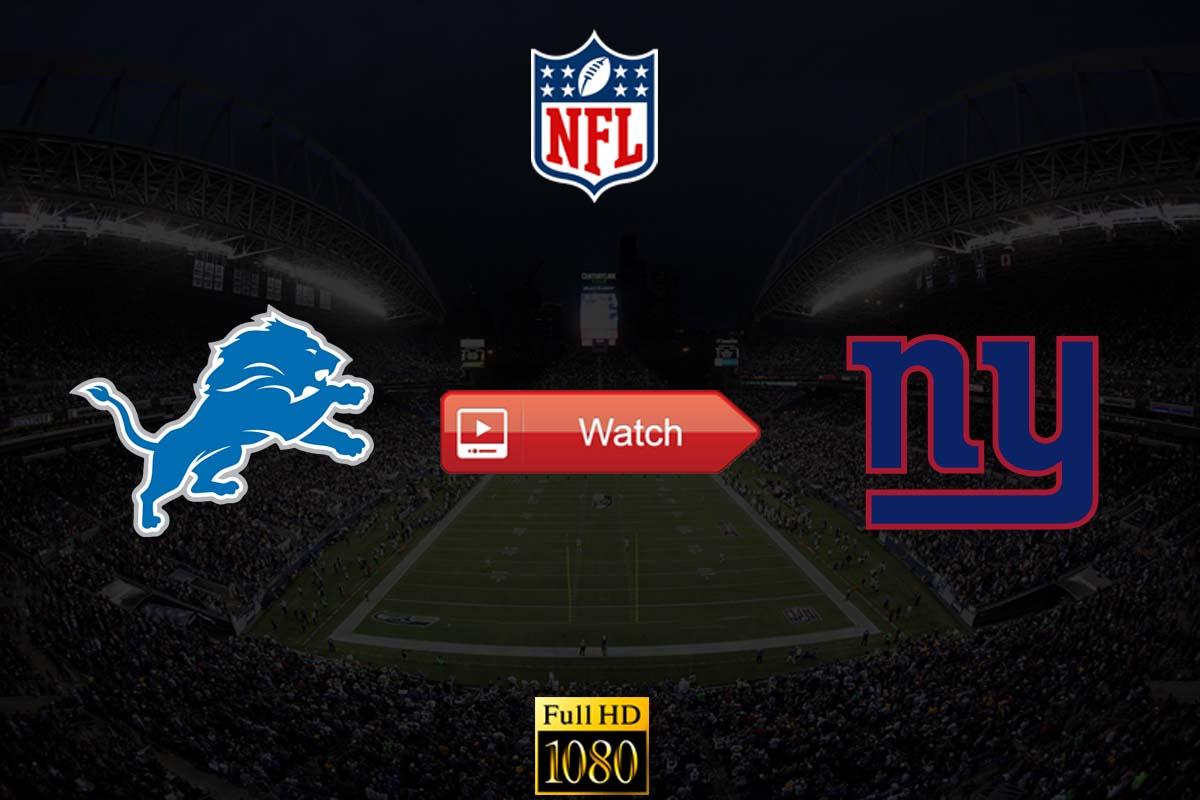 Lions vs Giants live stream reddit