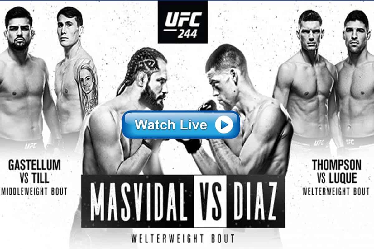 UFC 244 live streaming reddit
