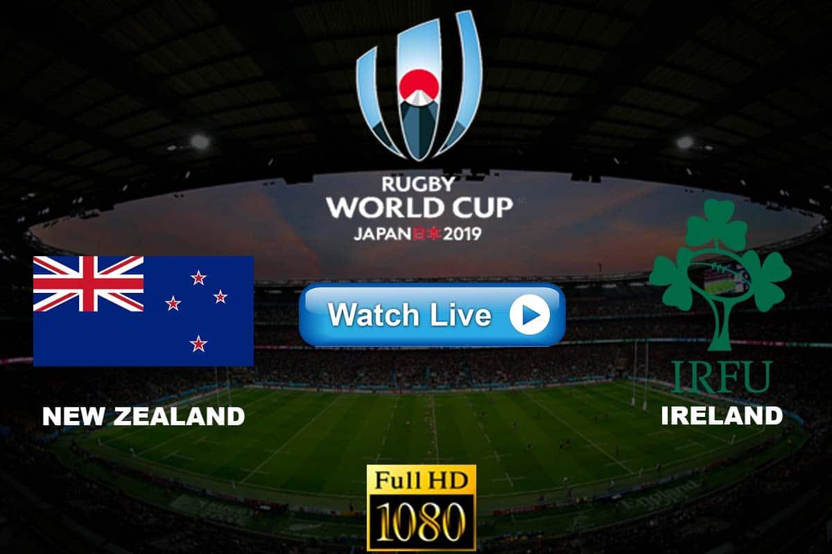New Zealand vs Ireland live streaming reddit