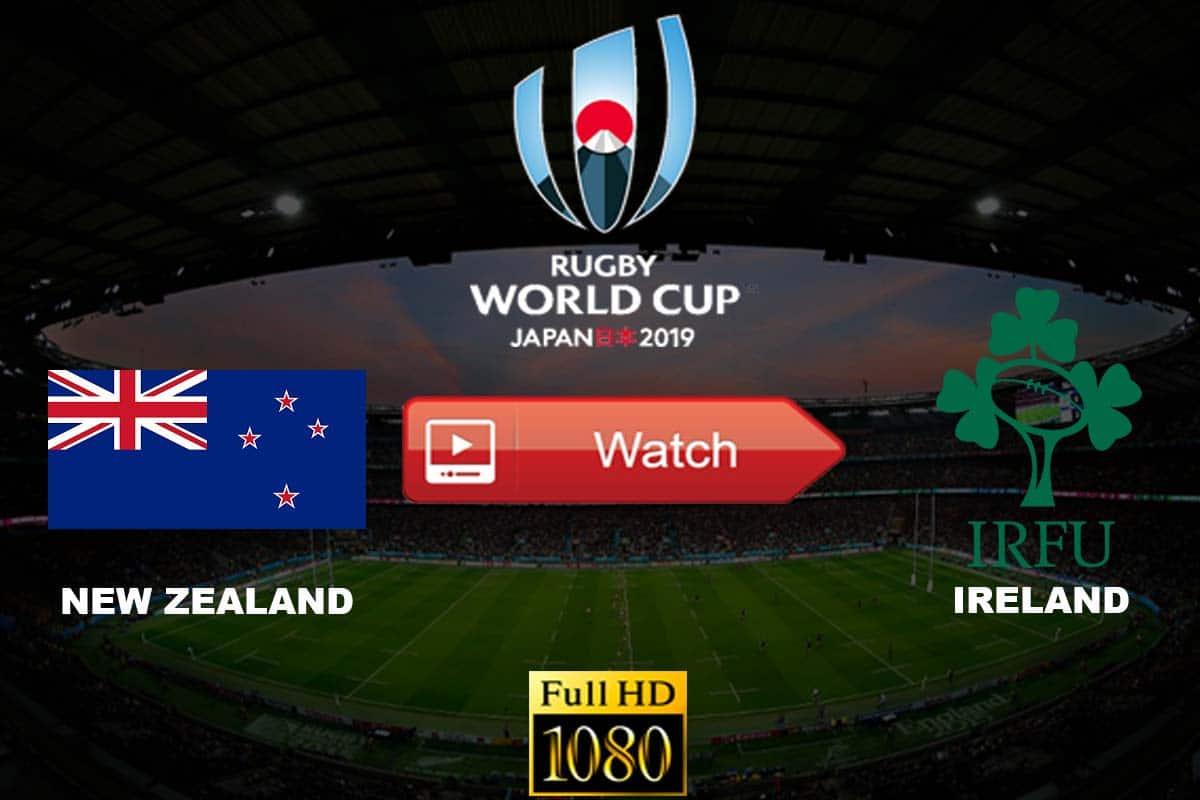 New Zealand vs Ireland live stream reddit