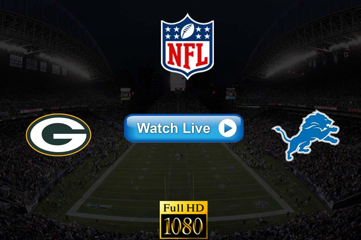 Packers vs Lions live streaming reddit