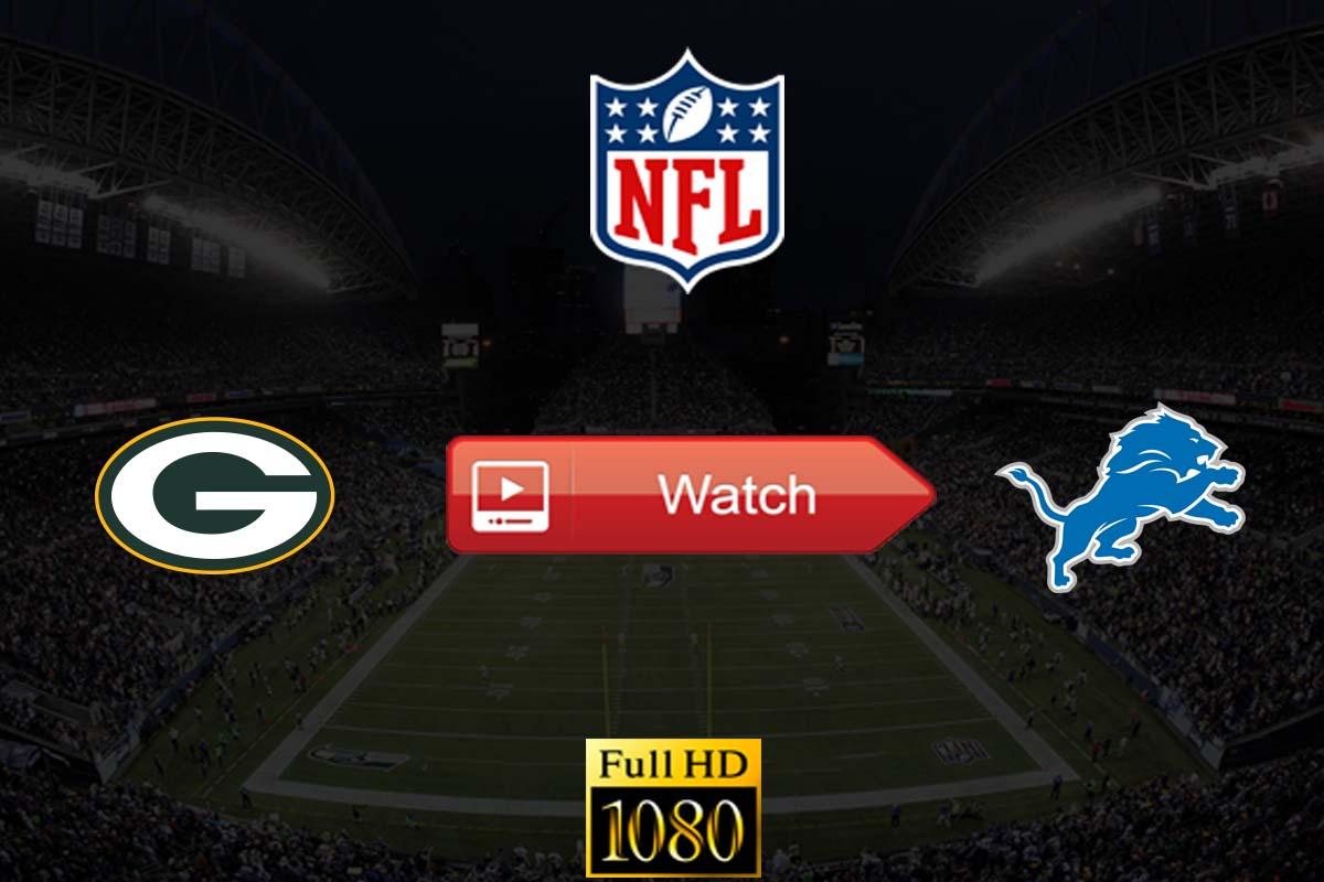 Packers vs Lions live stream reddit