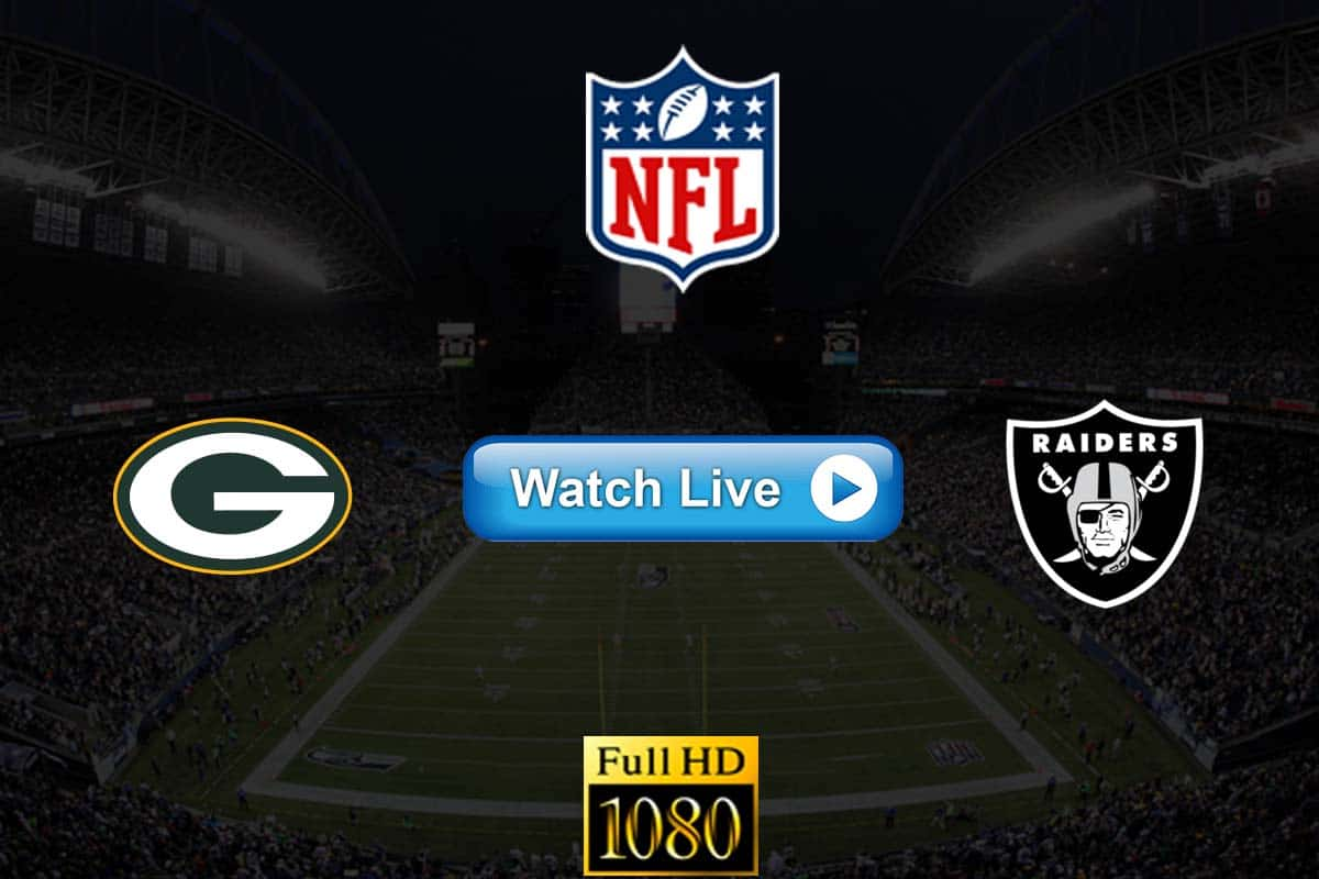 Packers vs Raiders live streaming reddit