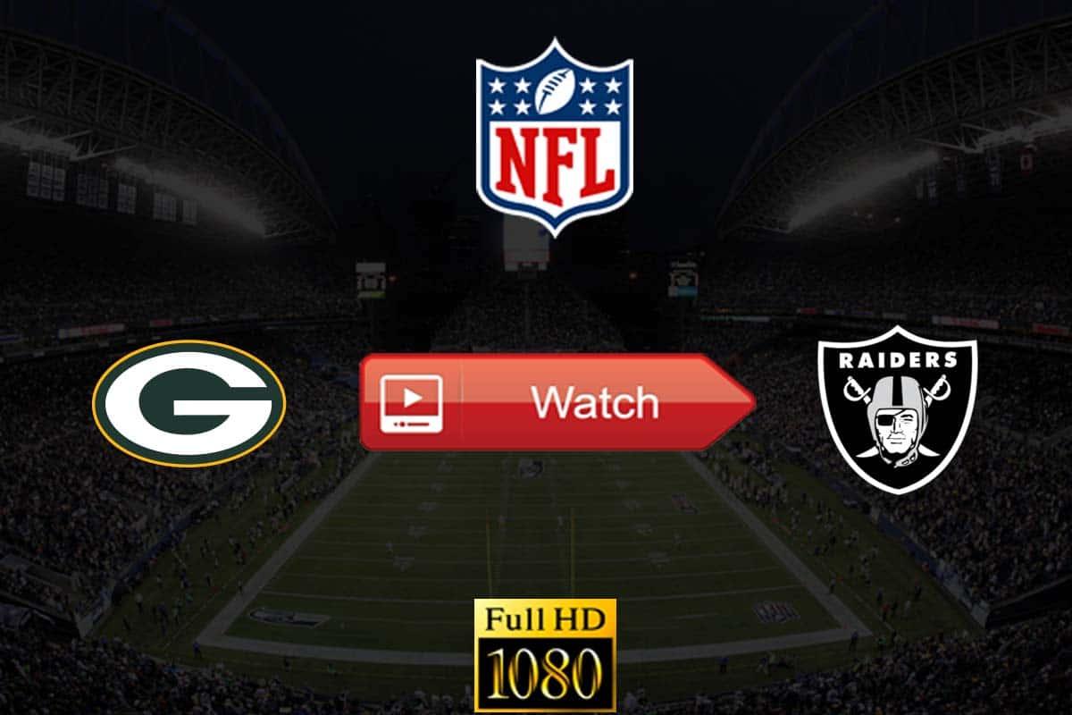 Packers vs Raiders live stream reddit