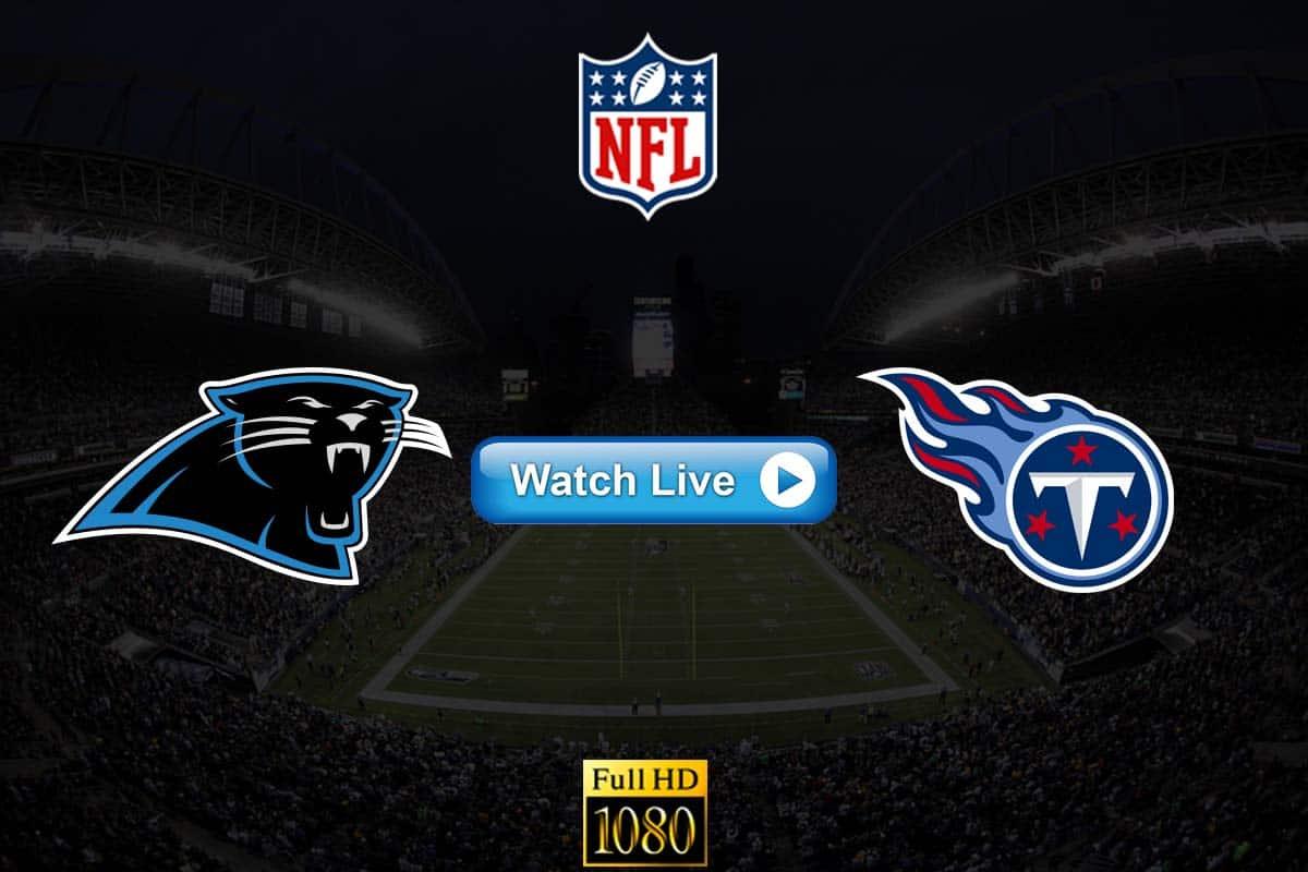 Panthers vs Titans live streaming reddit