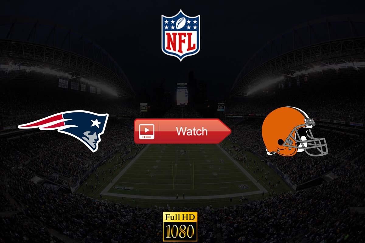 Patriots vs Browns live stream reddit