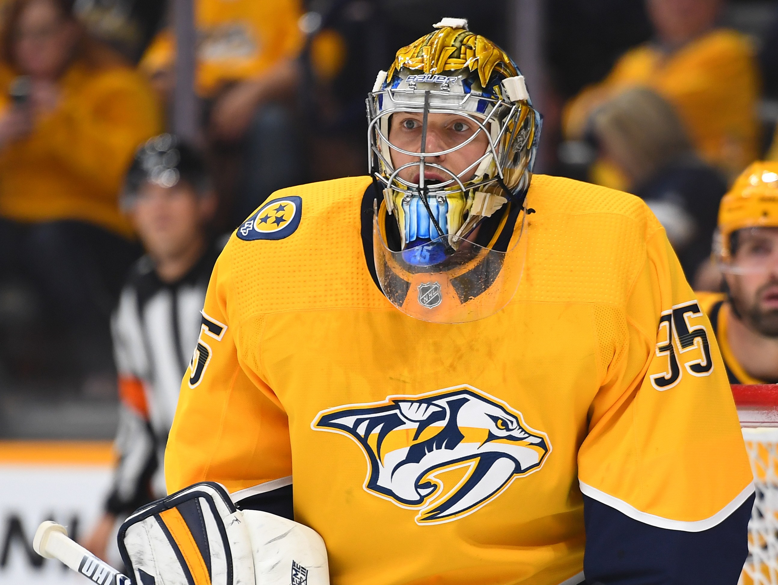 Pekka Rinne notches 59th career shutout