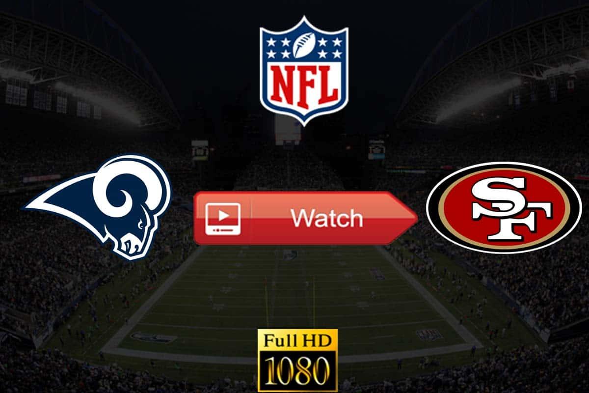Rams vs 49ers live stream reddit