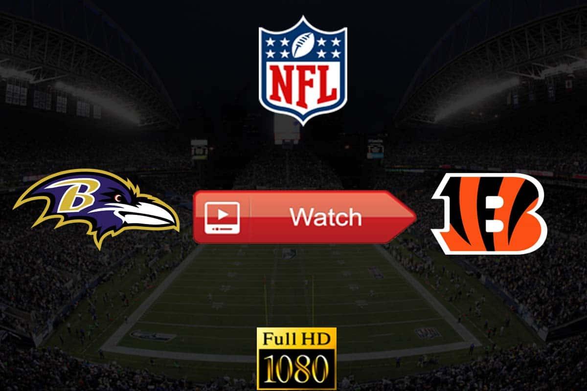 Ravens vs Bengals live stream reddit