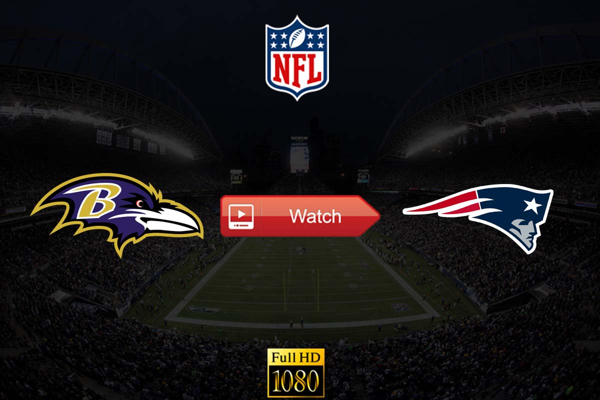 Ravens vs Patriots live stream reddit