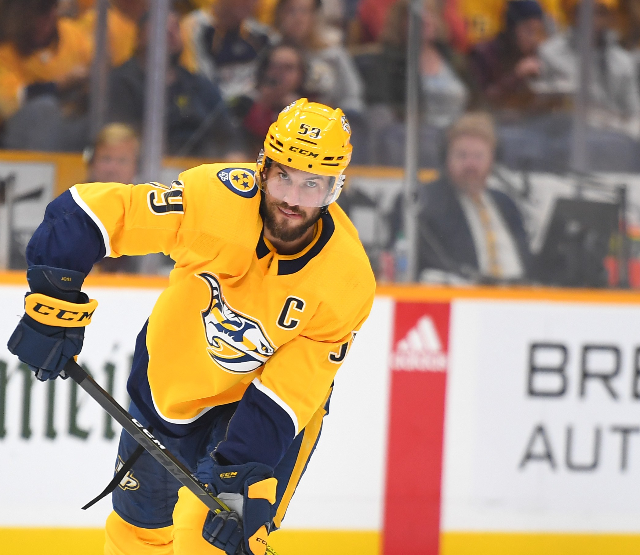 Nashville Predators play great on same day they give Roman Josi eight year extension