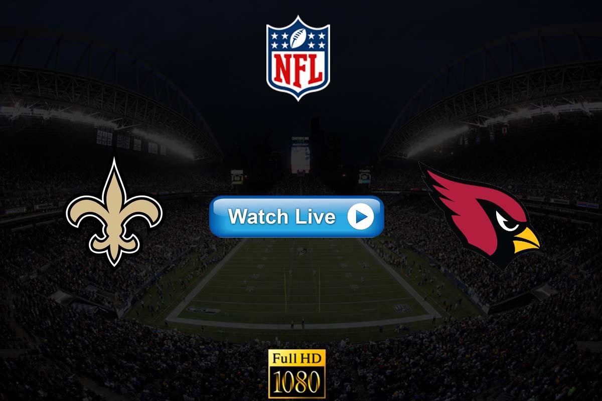 Saints vs Cardinals live streaming reddit