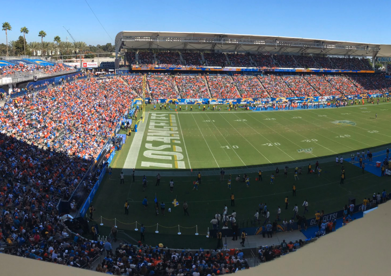Look: Broncos fans completely take over Chargers' stadium for game