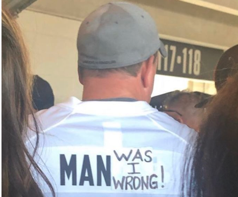 Browns fan hilariously trolls Johnny Manziel at Seahawks game