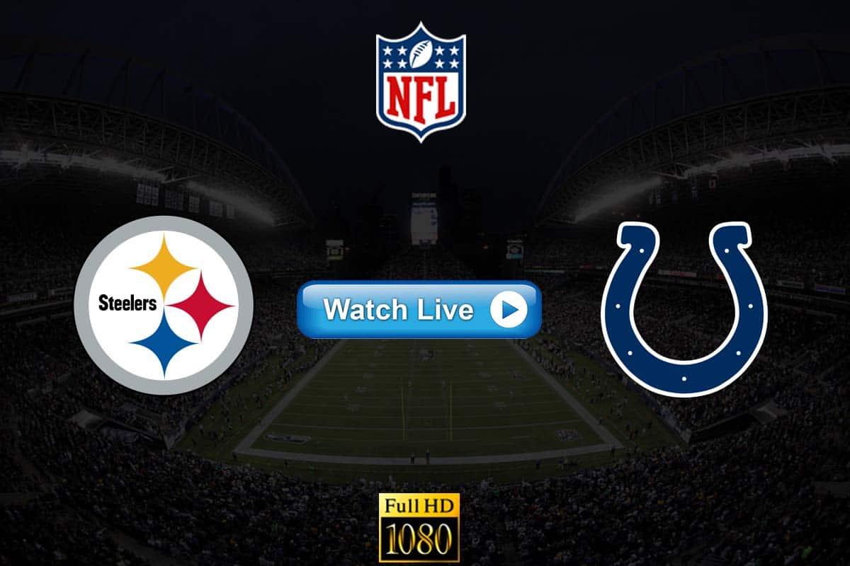 Steelers vs Colts live streaming reddit