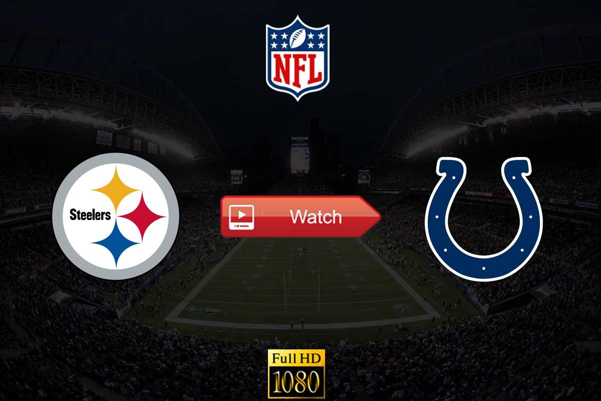 Steelers vs Colts live stream reddit