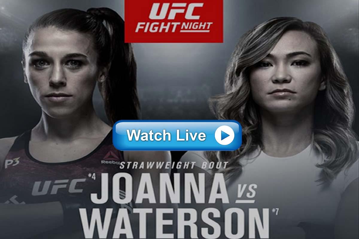 UFC Fight Night 161 live streaming reddit