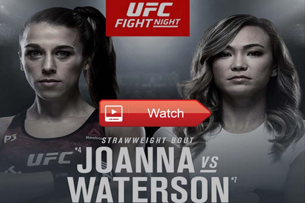 UFC Fight Night 161 live stream reddit