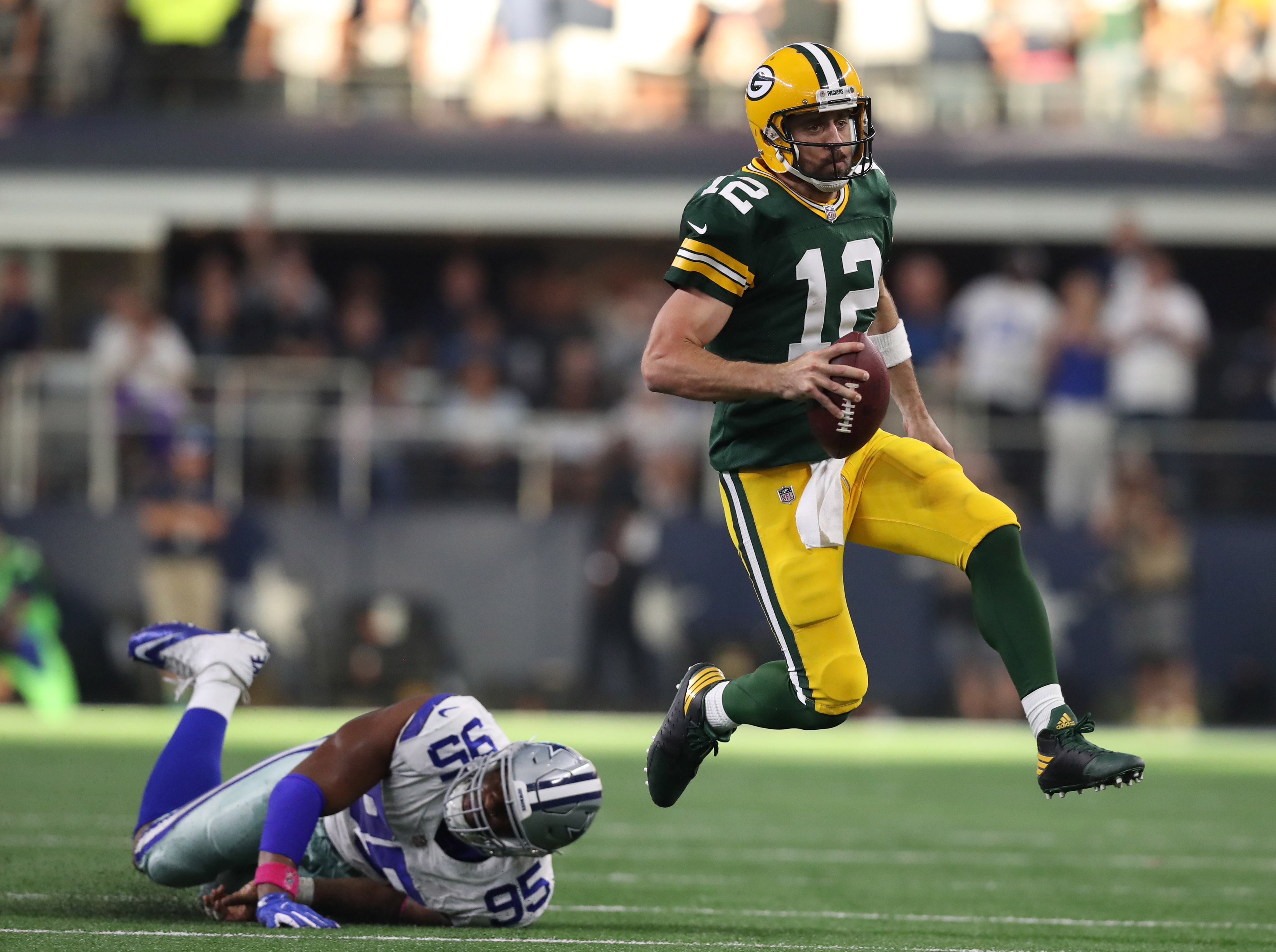 Packers' QB Aaron Rodgers Has Always Shined in Dallas