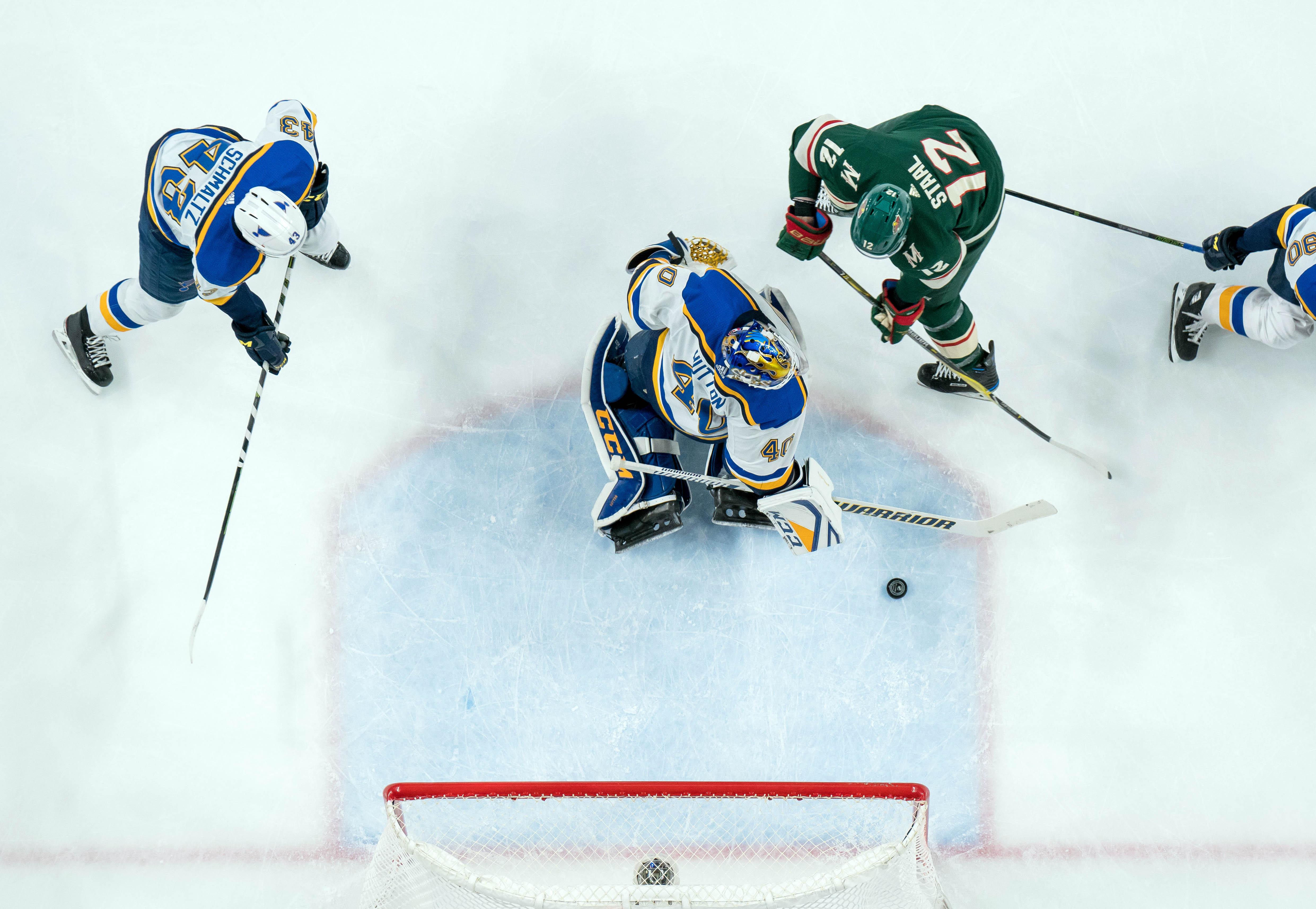 Game Preview: Minnesota Wild vs. St. Louis Blues 11/2/19 @ 7:00PM CST at Xcel Energy Center