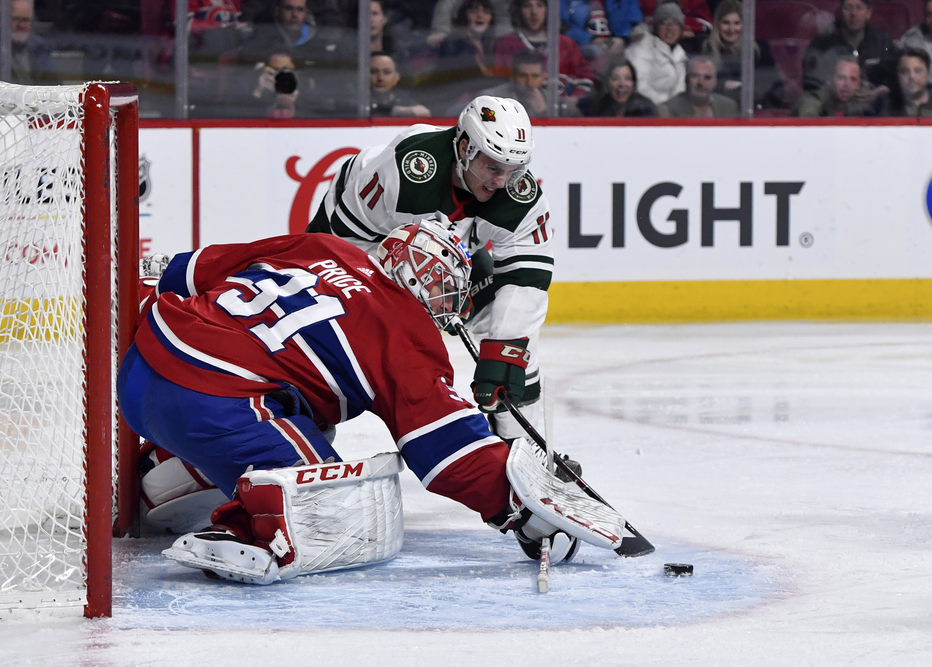 Wild Resilient in 4-3 Home Victory Over Montreal