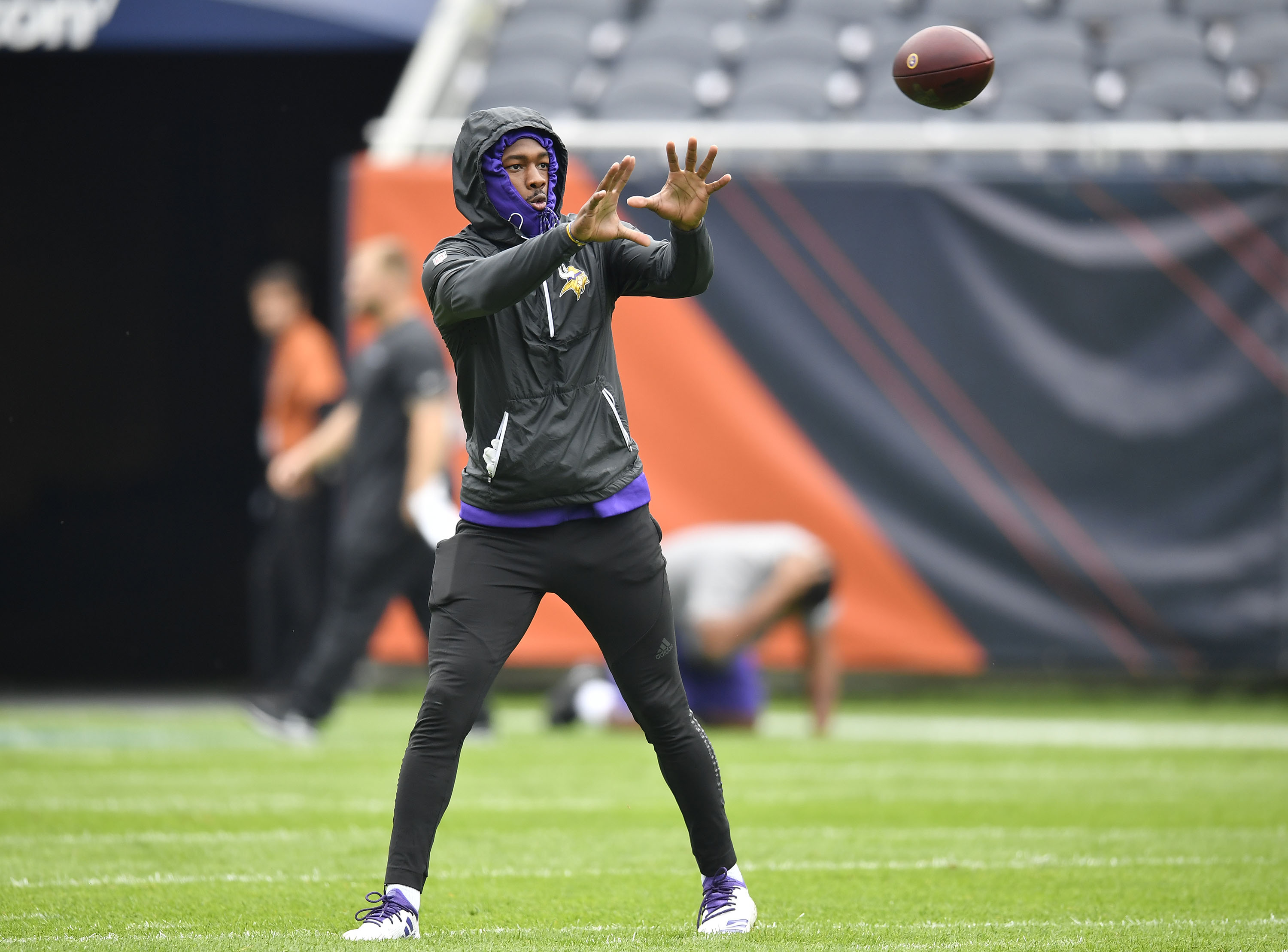 Stefon Diggs sparks Vikings trade rumors after odd Twitter post, missed practice