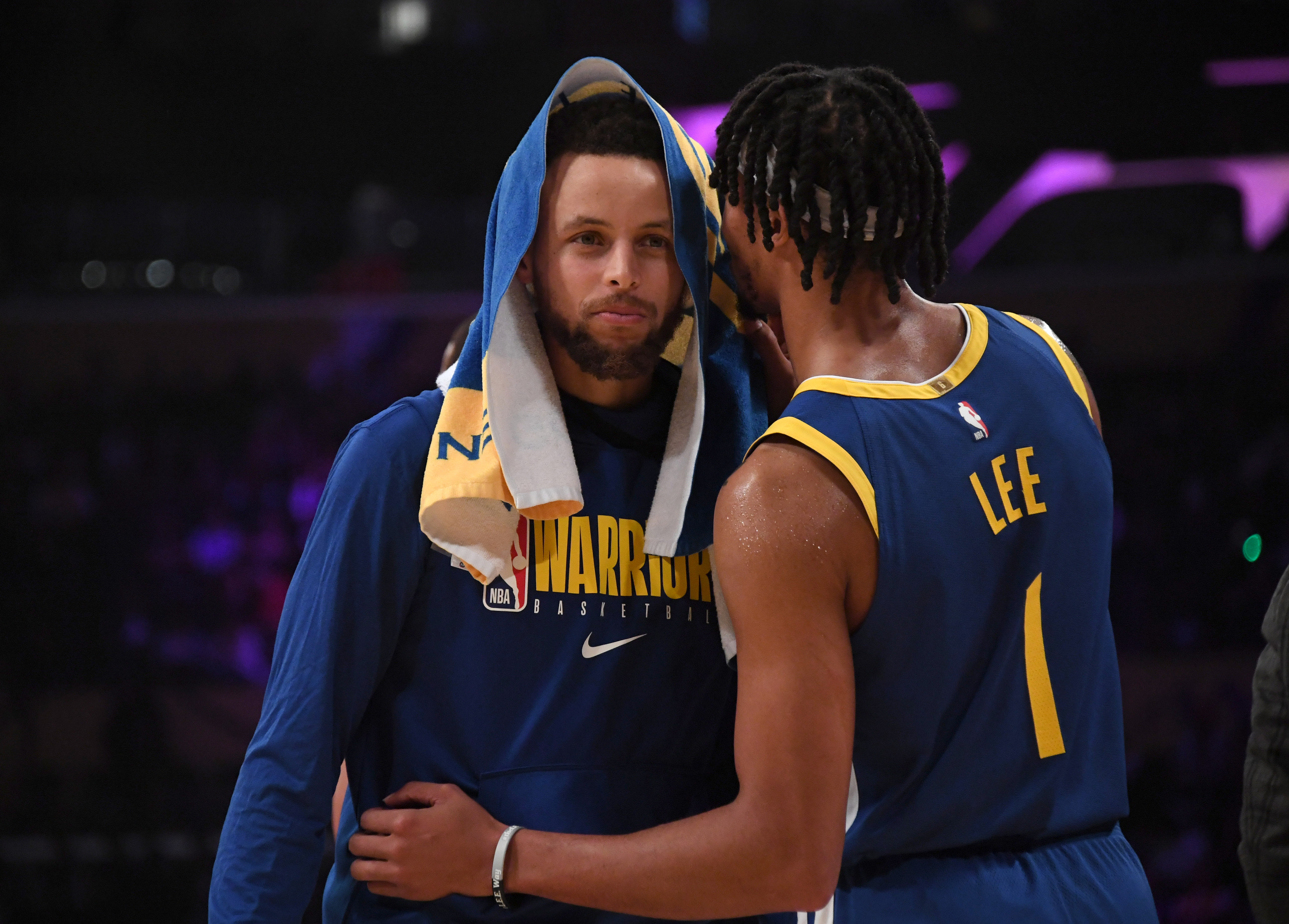 Stephen Curry heaps praise on D'Angelo Russell