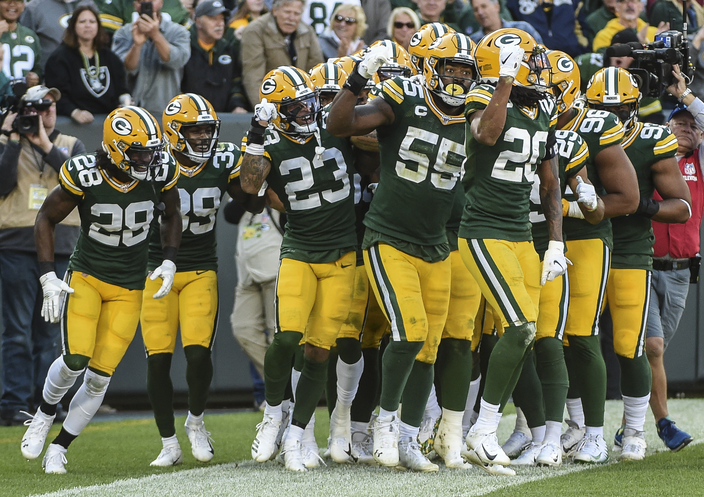 Green Bay Packers Midseason Grades: Defense