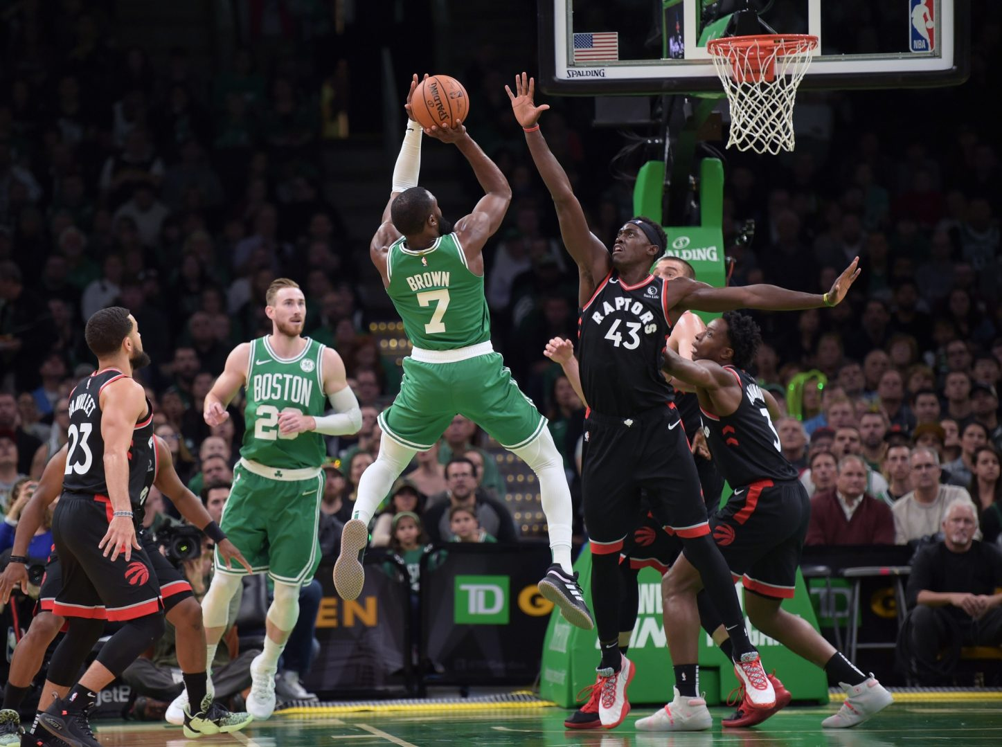 Rapid Recap: Celtics start slow but surge thrillingly to beat Raptors