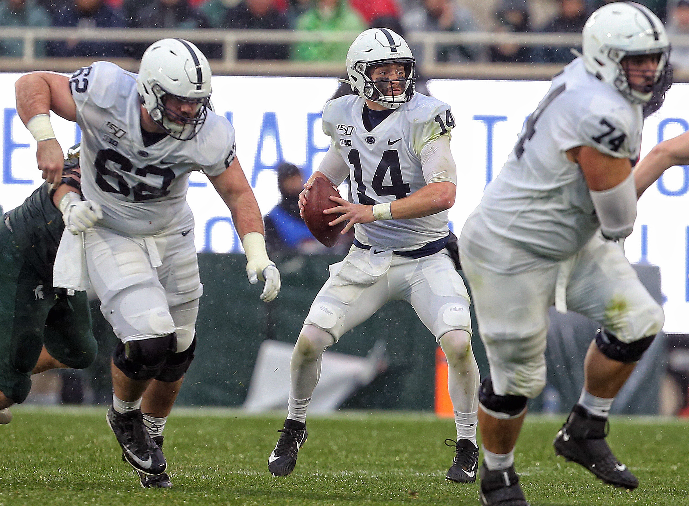 No. 6 Penn State secures Land Grant Trophy with 28-7 win at Michigan State