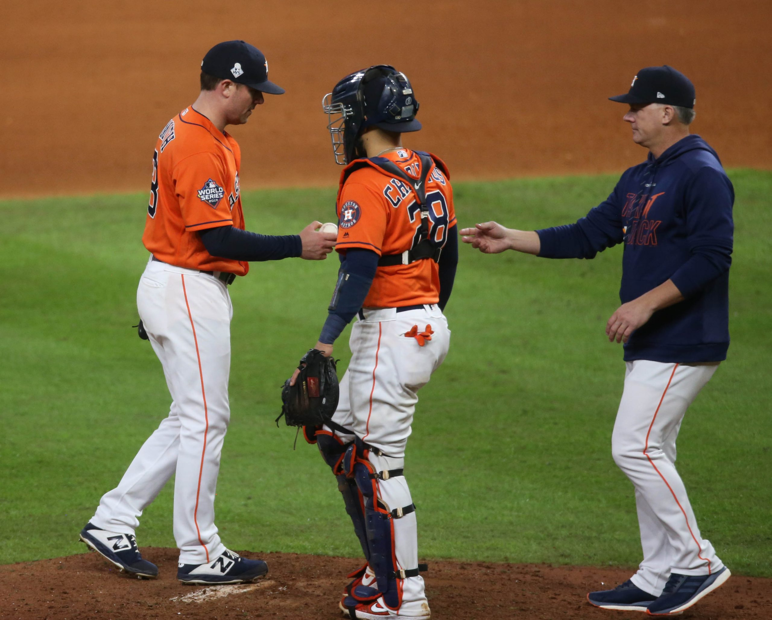 AJ Hinch explains questionable decision regarding Gerrit Cole pitching in Game 7